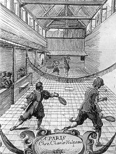 Jeu de paume in the 17th century