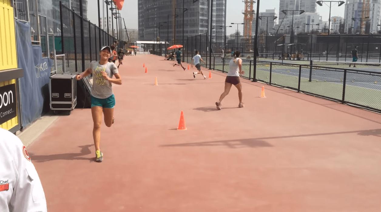 Tennis Footwork Practice
