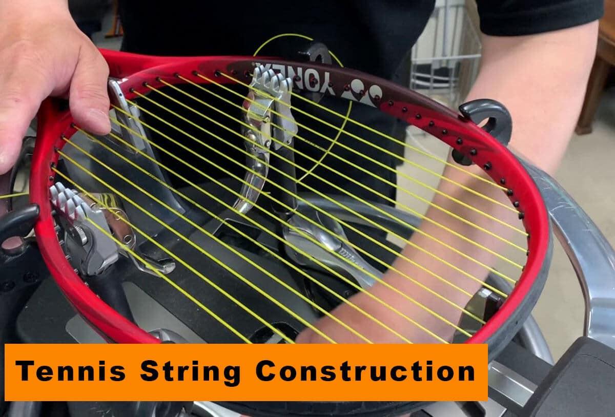 Tennis String Construction