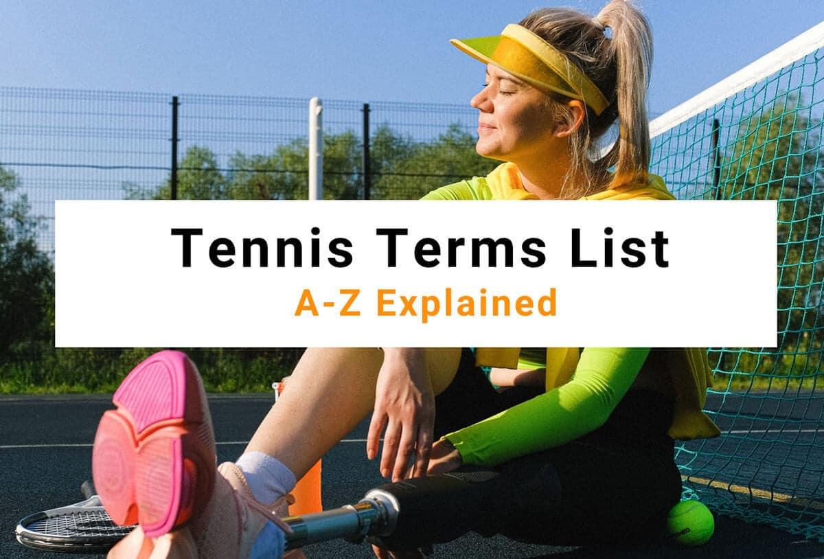 Tennis-Terms-List