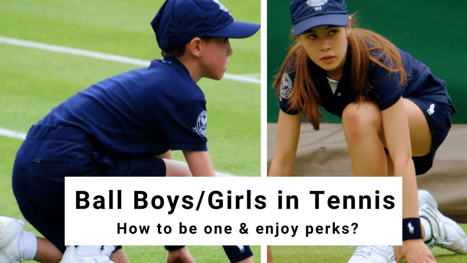 ball boy in tennis