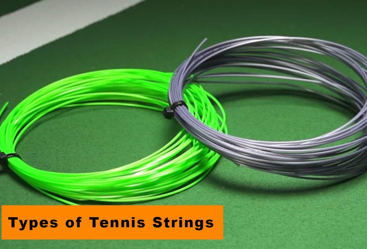major types of tennis strings