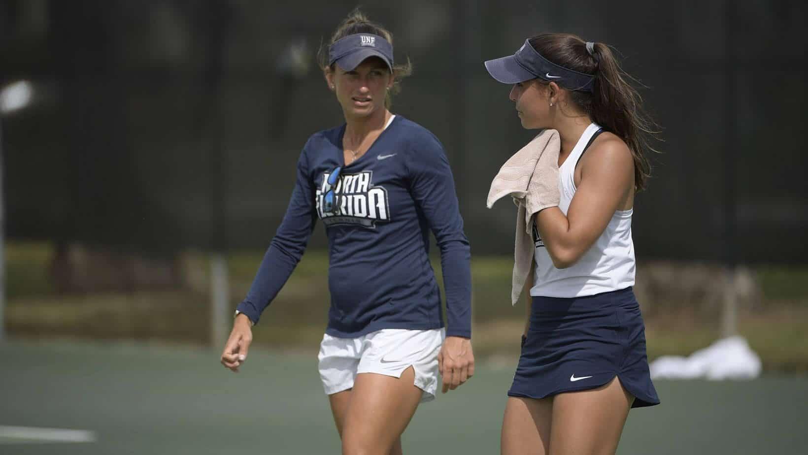 How do we determine the salary of a tennis coach?