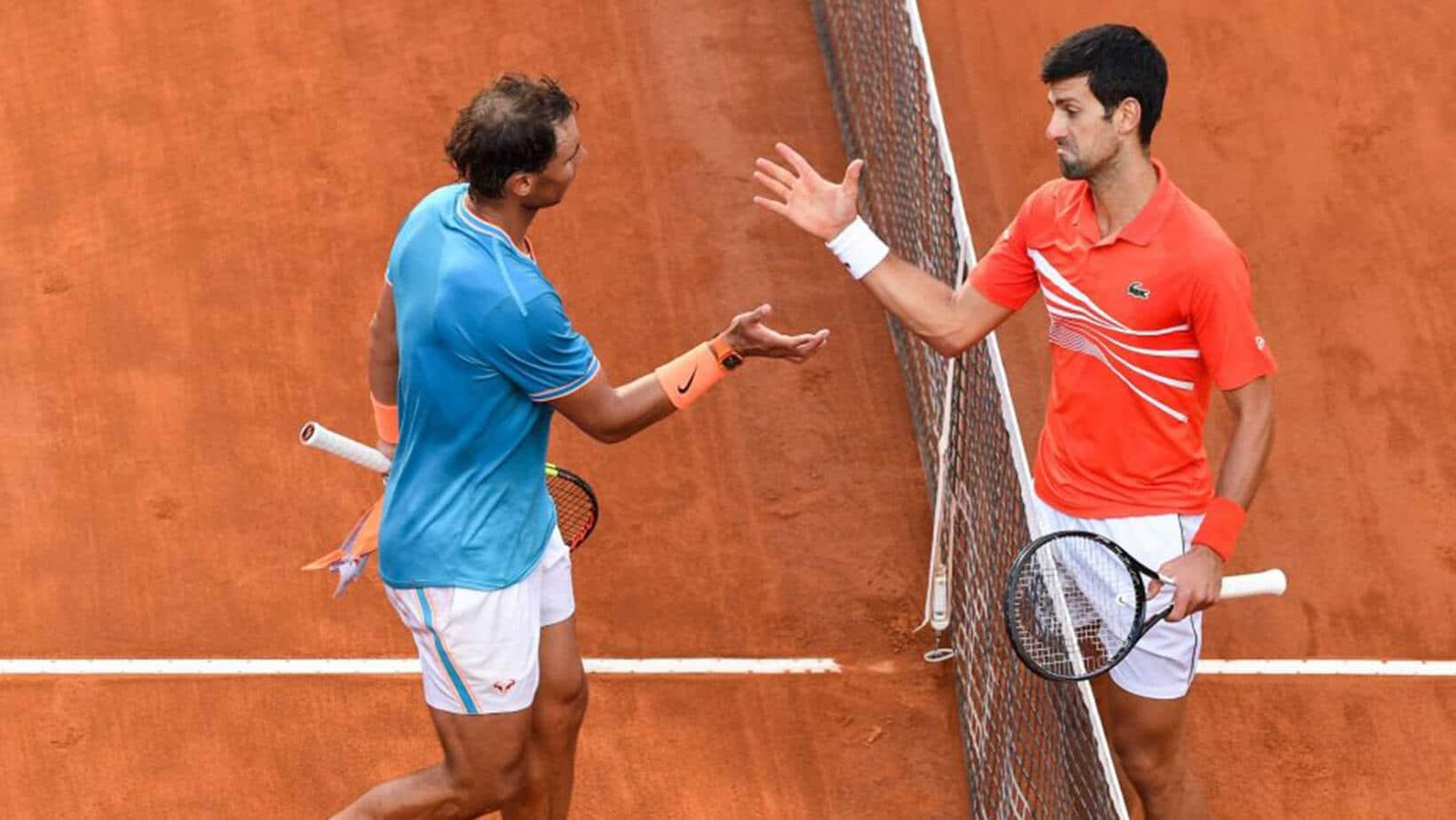 Novak Djokovic Meeting Rafael Nadal