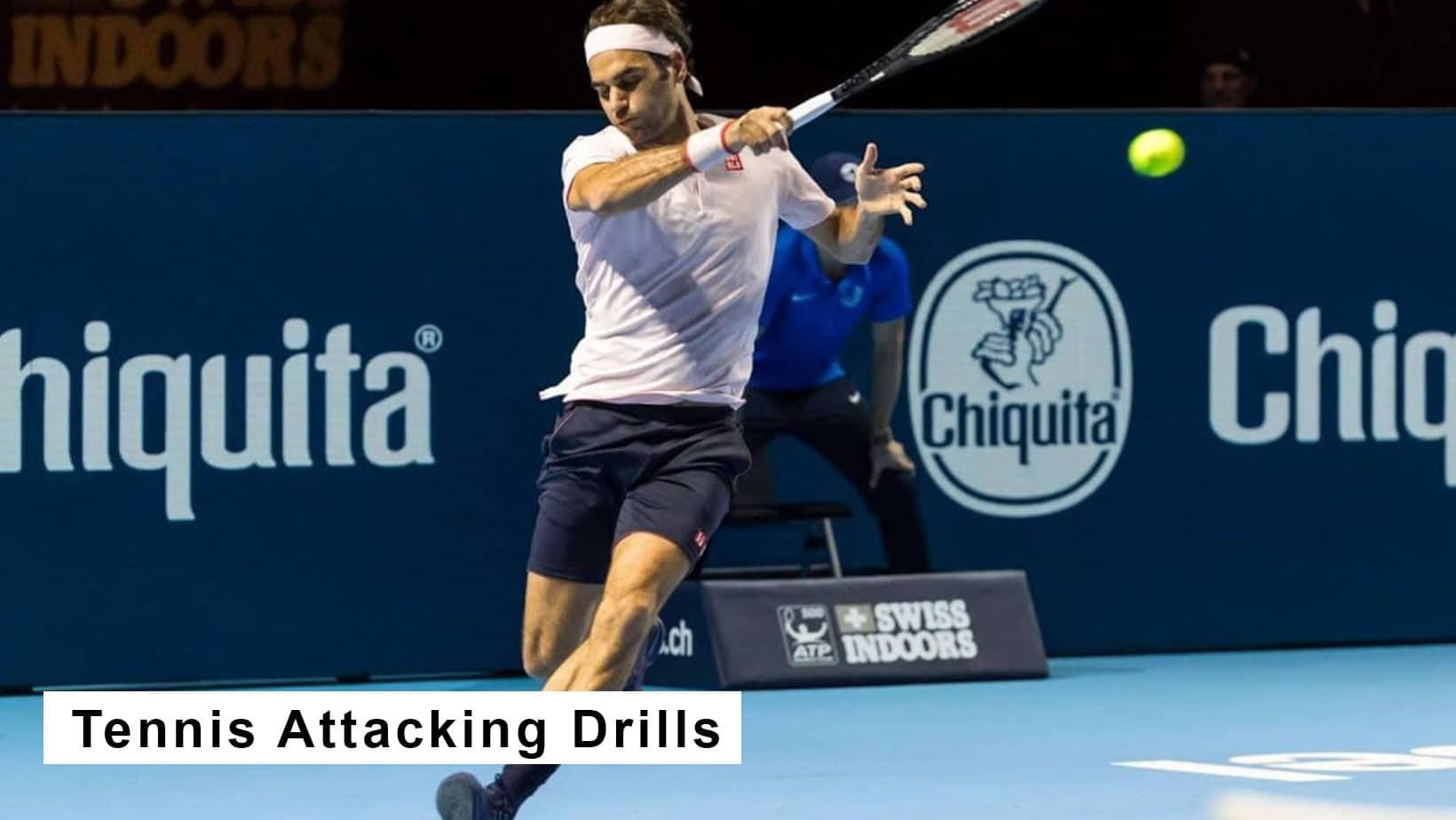tennis attacking drills
