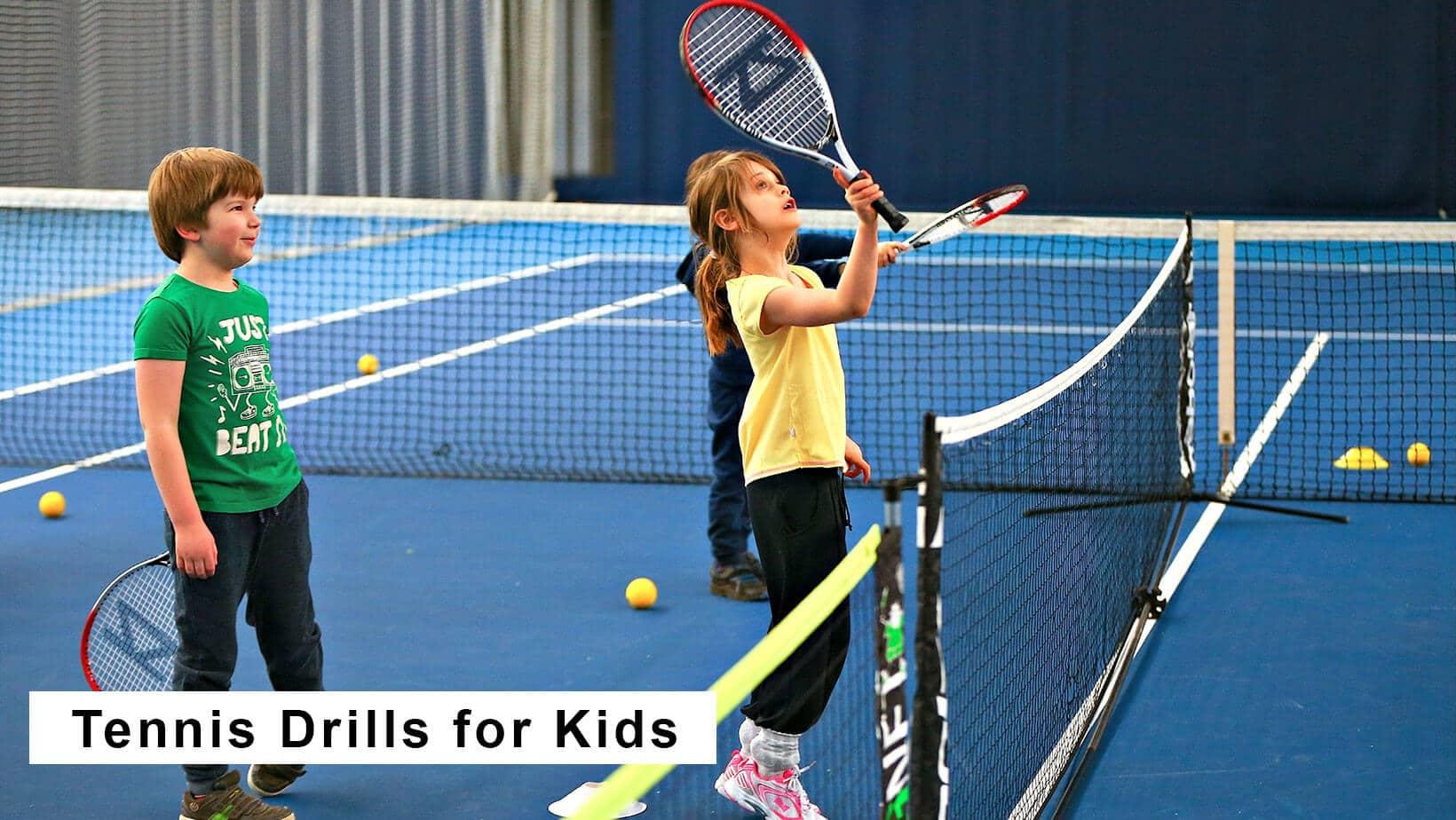 tennis drills for kids