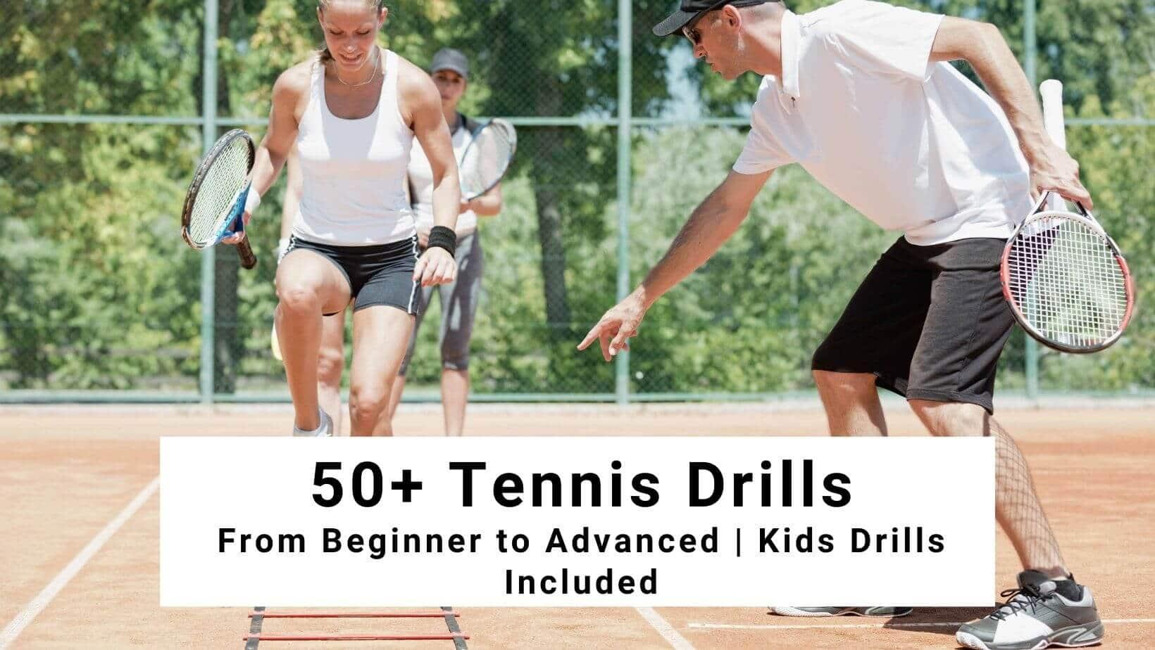 tennis drills