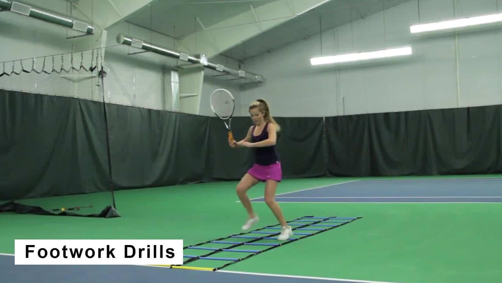 tennis footwork drills