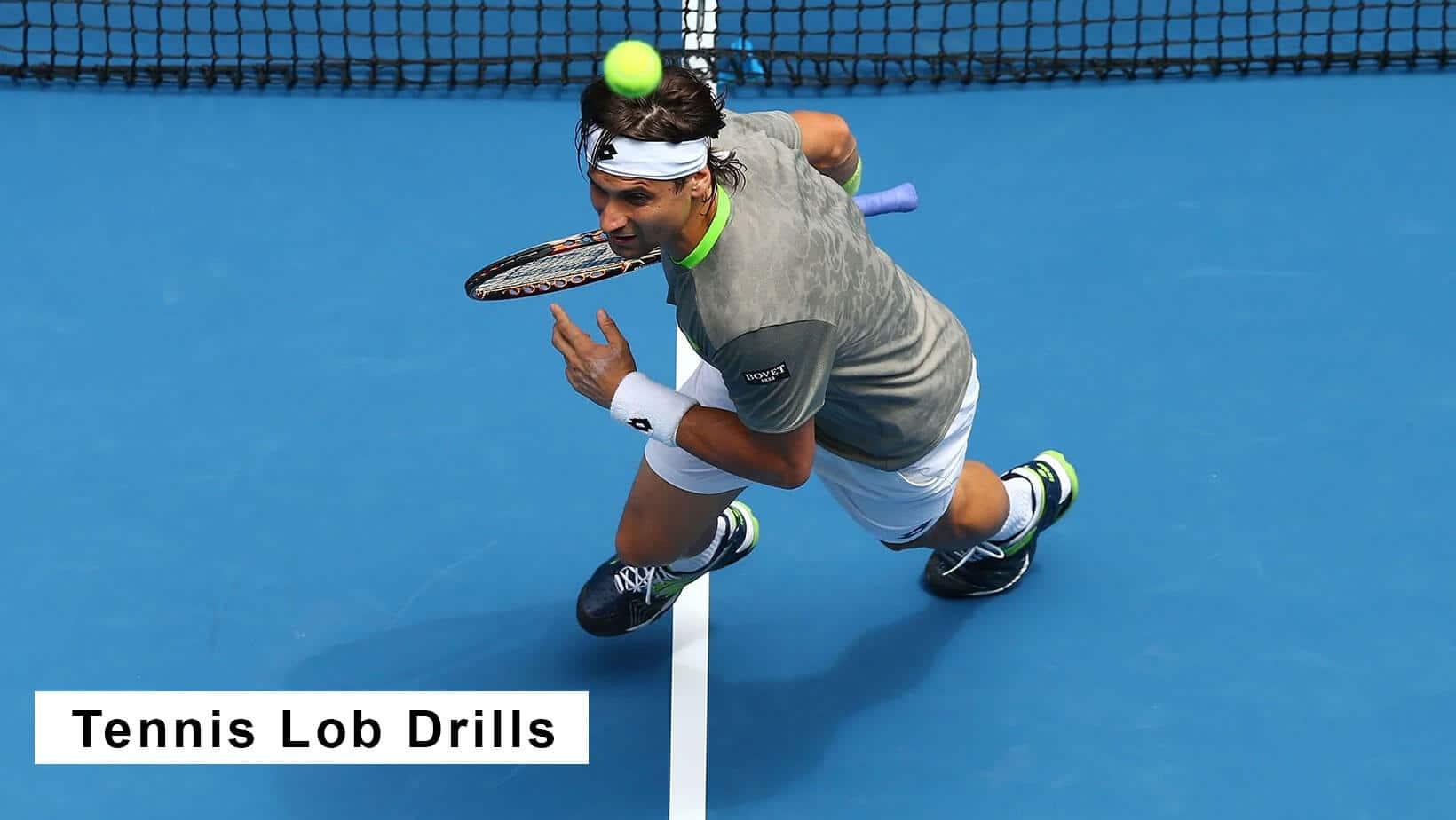 tennis lob drills