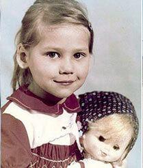 Anna Kournikova Childhood Picture 1