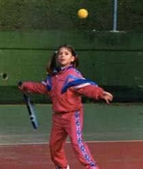 Camila Giorgi Childhood Picture
