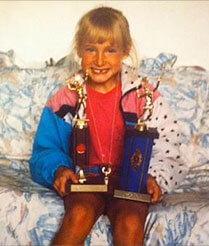 Eugenie Bouchard Childhood Picture 2