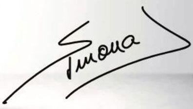 Simona Halep Signature